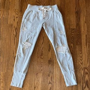 NSF distressed joggers